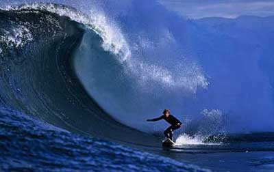 Shipstern Bluff wave dwarfs all