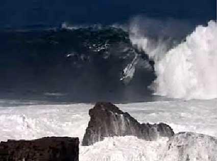 Shipstern Bluff surf